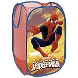 North Star SM9386 Portagiochi Pop UP Spiderman, Poliestere, Multicolore