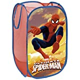 North Star Arditex SM9386 Basket pongdodo salva giocattoli, design Spiderman