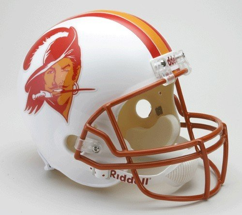 Riddell Tampa Bay Buccaneers 1976-96 Throwback Deluxe Replica Helmet (Helmet Buccaneers Replica Bay Riddell Tampa)