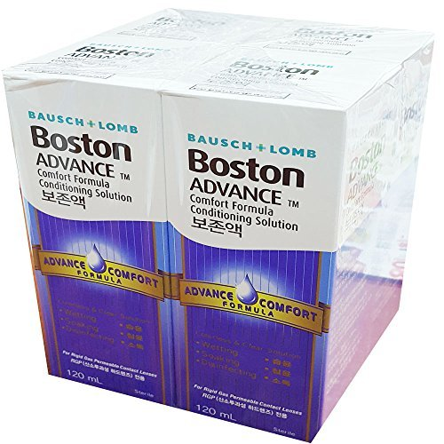 Bausch & Lomb Boston Advance Conditioning Solution 4.05oz(pack of 4 =16.23oz) Boston Advance Comfort Formula