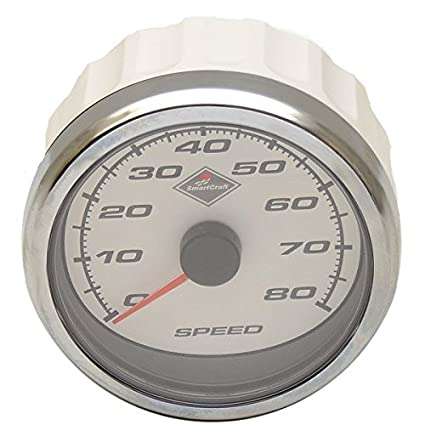 Amazon com: Mercury Boat Smartcraft Speedometer 79-879905K31 | White