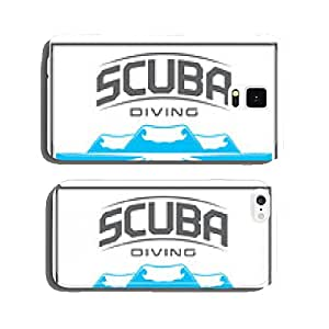 Diving_underwater_scuba_lables cell phone cover case iPhone5