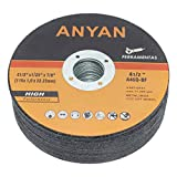 Cut-Off Wheel, Cutting disc, Ultra-Thin and Long-Lasting Anyan 4.5'' Cut-off Wheel for Metal, Stainless Steel. (Pack of 25) 7/8 Harbor