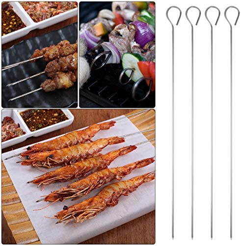 HNFGH Outils de Barbecue en Acier Inoxydable 7 pcs Set Barbecue Grill Ustensile Accessoires Camping Outdoor Cooking Tools Kit avec boîte