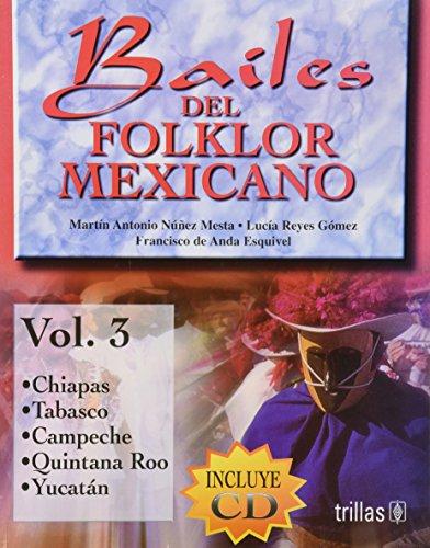 Bailes Del Folklor Mexicano/ Mexican Folklore Dance (Spanish (Popular Dance Costumes)