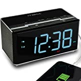 Best Amazon Alarm Clocks - iTOMA Alarm Clock Radio with Wireless Bluetooth Stereo Review