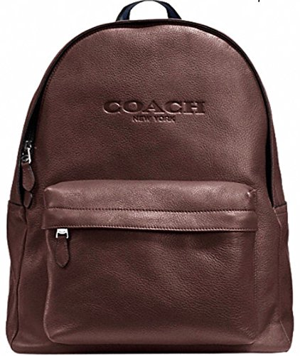 Coach Campus Backpack in Leather F72120 Mahogany