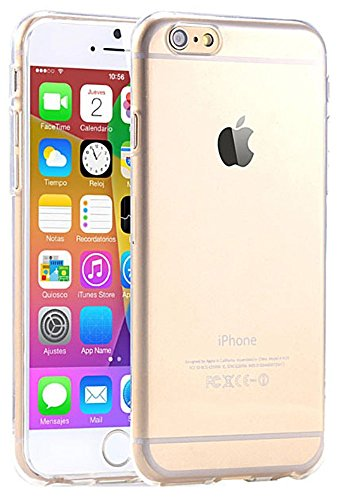 iPhone 6 Case, iPhone 6S Cases By Cable And Case [SOFT-GRIP] iPhone 6 6S (4.7) Case SlimNEW Anti-Scratch [Crystal Clear] - Slim Case for iPhone 6 6 S (4.7) (2015) - Crystal Clear (IP6JCC)