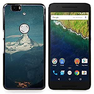 SKCASE Center / Funda Carcasa protectora - el Monte Everest;;;;;;;; - Huawei Google Nexus 6P