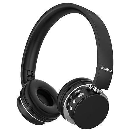 Yaobuyao Bluetooth inalámbrico, Auriculares de Tarjeta de ...