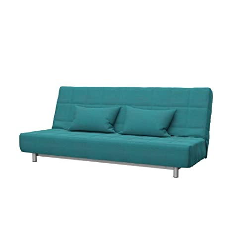 Soferia - Replacement Cover for IKEA BEDDINGE 3-seat Sofa-Bed, Classic Blue
