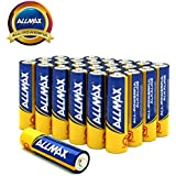 ALLMAX All-Powerful Alkaline Batteries- AA (24-Pack), Ultra Long Lasting, Leak-Proof, 1.5V Cell