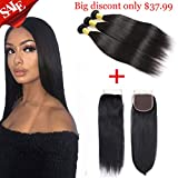 Best Grade Of Human Hair Weaves - Fumigirl Brazilian Straight Hair 3 Bundles With Free Review