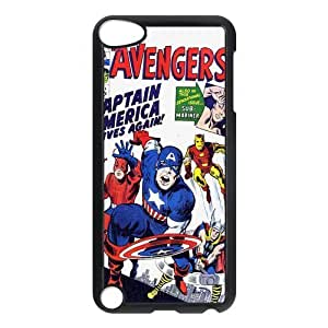 Beautiful Customized iPod 5 Cases Skin Hard Plastic Material Case For iPod iTouch 5th - Marvel's The Avengers