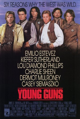Young Guns POSTER Movie (27 x 40 Inches - 69cm x 102cm) (1988)