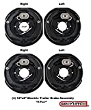 #10: Trailer Brake Assembly Electric Trailer Brakes 12