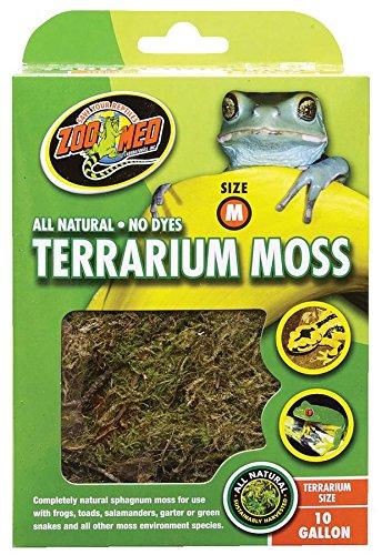 Amazon Com Zoo Med Terrarium Moss 10 Gallon Reptile Moss Pet