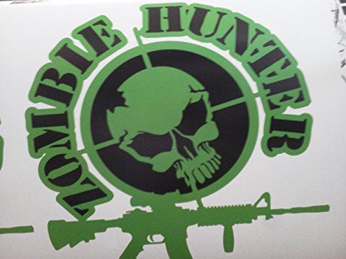 Zombie Hunter Ar-15 Decal