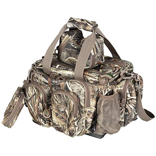 Timber Ridge 16.5-inch Waterfowl Hunting Catch All Gear Deluxe Blind Bag with Accessories Pouch and Shooting Front Rest Bag (Gear Bag Hunting)