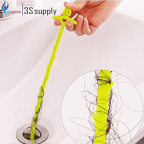 XJG Bathroom Hair Sewer Filter Drain Cleaners Outlet Kitchen Sink Drian Filter Strainer Anti Clogging Floor Wig Removal Clog Tools Pink one size