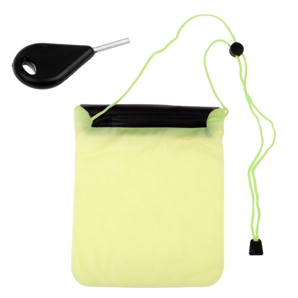 Baoblaze Perfecto Bolsillo a Prueba de Agua de Almacenamiento de Materiales Personales de Deportes Acuáticos al Aire Libre como Natación
