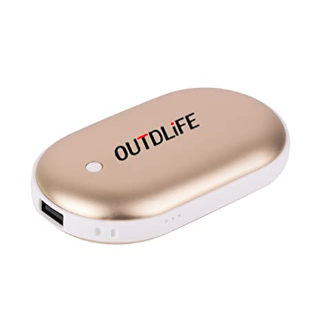 Amazoncom Outdlife Rechargeable Hand Warmer 5200mah7800mah Power