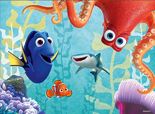 Ravensburger Disney: Finding Dory Glow In The Dark 100 Piece Jigsaw Puzzle for Kids - Every Piece is Unique, Pieces Fit Together Perfectly