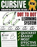 Cursive Handwriting Workbook For Kids: Dot To Dot