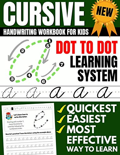 Cursive Handwriting Workbook Kids