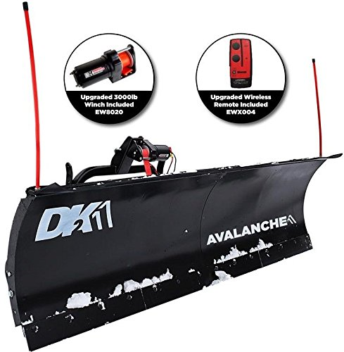 DK2 Avalanche 82 x 19 T-Frame Snow Plow Kit - AVAL8219 by DK2