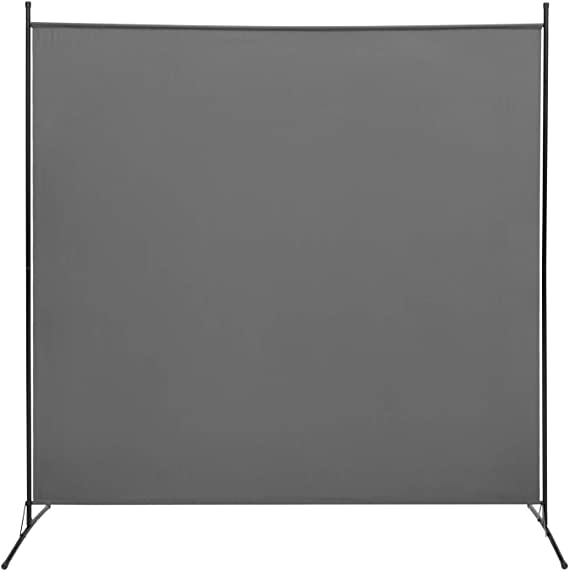 STEELAID Office Partition Room Divider Classroom and Dorm Privacy Screen 72 inc 6 Ft Portable Partition Screen