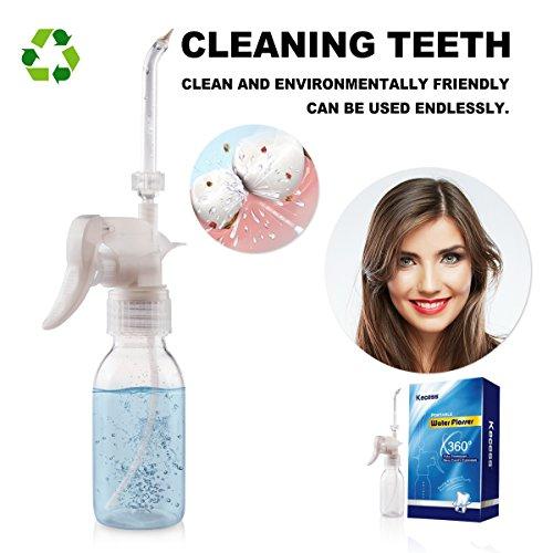 Water Flosser Waterproof Oral Irrigator Water Dental Flosser for Teeth,Dental,Kids Braces with Gift Box (Water flosser)