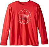 Life is Good Men's Land of the Free Crusher Long Sleeve Tee