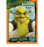 [Shrek Forever After: 100% Ogre Colouring Book] (By: Dreamworks Animation) [published: May, 2010]