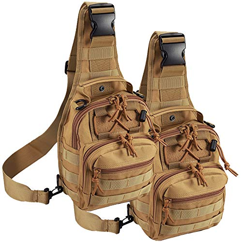 Camping & Hiking Climbing Bags Smart Tactical Sling Military Backpack For Men Bag Molle Fishing Hiking Hunting Molle Bags Sports Bag Lady Chest Body Single Shoulder Yet Not Vulgar