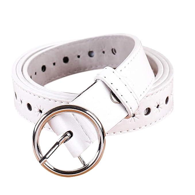come acquistare la scelta migliore comprare popolare FRAUIT Cintura Uomo Pelle Lucida Vintage Cinture Donna Vita Alta ...