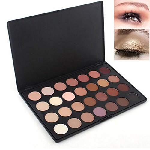 SQDeal 28 COLOR NEUTRAL NUDE EYESHADOW PALETTE MAKE UP KIT