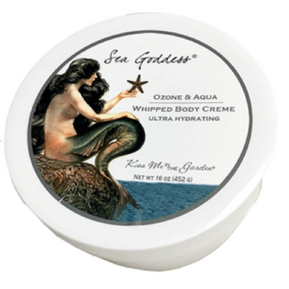 Kiss Me In The Garden - Sea Goddess Collection - Whipped Body Cream - 16 OZ - Item# Kiss00061