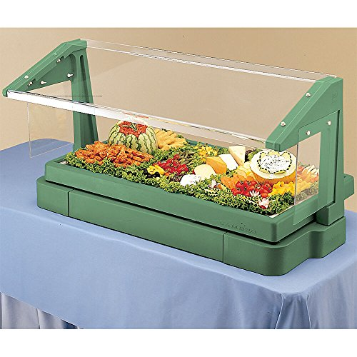 Cambro BBR480519 Tabletop Salad Bar with Sneeze Guard, 48