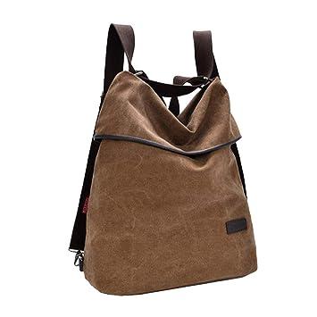 0c1a05c7f2dd6 Canvas Rucksack Frauen Leinwand Casual Multifunktionale Große Kapazität Handtasche  Schultertasche Rucksack casual damentasche