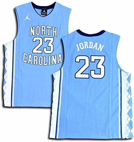 697284a0a60867 Jordan Big Boys  (Youth) UNC North Carolina Tar Heels Replica Jersey  Michael Jordan