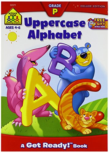 School Zone Workbooks-Uppercase Alphabet Grade P