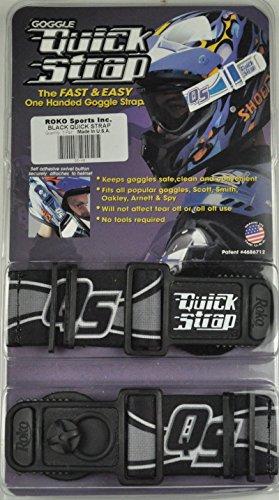 Roko Goggle Quick Strap Black Spy Thor Scott Smith ()