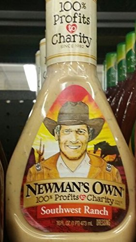 Newmans Own Ranch - Newman's Own Salad Dressing Southwest, 16-Ounce (Pack of 3)