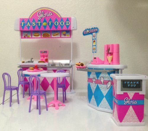 Gloria Fast-food Play Set.