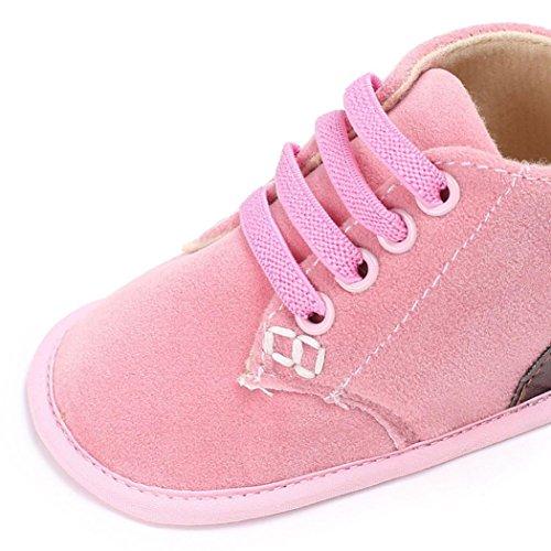Hunpta Baby Schuhe Säugling Kinder Mädchen Jungen Weiche Sole Krippe Kleinkind Neugeborene Schuhe Rosa