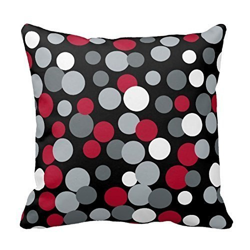 red and black pillows - 7