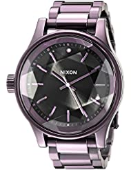 Nixon Women's A3842172 Facet Analog Display Japanese Quartz Purple Watch