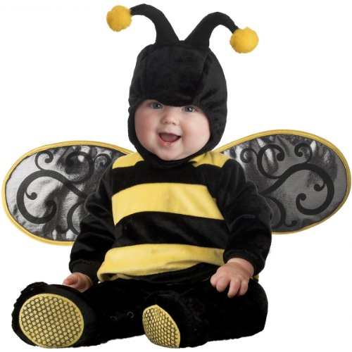 InCharacter Costumes Baby's Lil' Stinger Bee Costume, Black/Yellow, Small]()