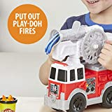 Play-Doh Wheels Firetruck Toy with 5 Non-Toxic
